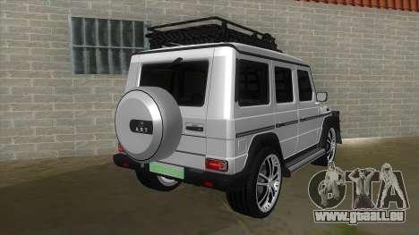 Mercedes-Benz G55 Response für GTA San Andreas rechten Ansicht