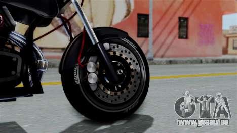 Turbike 2.0 pour GTA San Andreas sur la vue arrière gauche