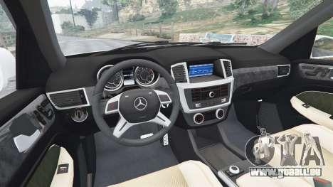 GTA 5 Mercedes-Benz GL63 (X166) AMG hinten rechts