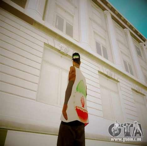 Iranian fam3 pour GTA San Andreas deuxième écran