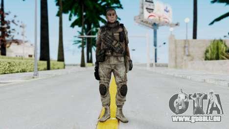 Crysis 2 US Soldier 6 Bodygroup B pour GTA San Andreas deuxième écran