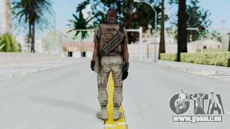 Crysis 2 US Soldier 6 Bodygroup B pour GTA San Andreas troisième écran