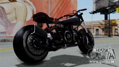 Turbike 2.0 für GTA San Andreas linke Ansicht