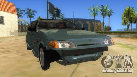 VAZ 2113 levier de vitesses pour GTA San Andreas vue arrière