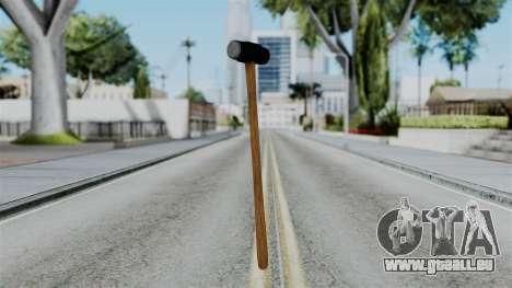 No More Room in Hell - Sledgehammer für GTA San Andreas