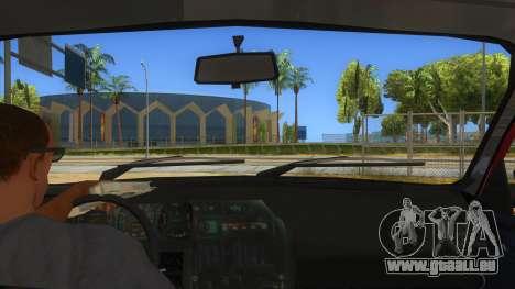 Dacia 1310L 1999 pour GTA San Andreas vue intérieure