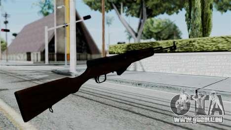 No More Room in Hell - Simonov SKS für GTA San Andreas dritten Screenshot