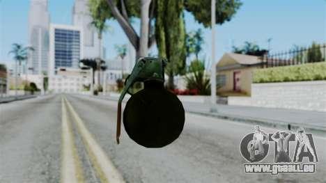 No More Room in Hell - Grenade pour GTA San Andreas troisième écran