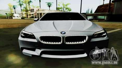 BMW M5 F10 für GTA San Andreas Seitenansicht