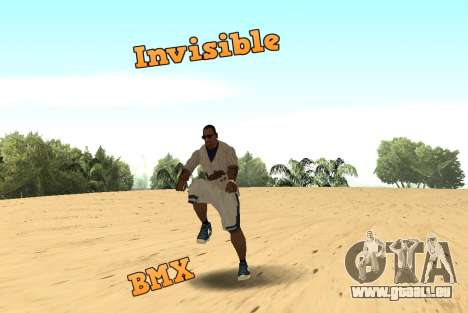 Invisibile BMX für GTA San Andreas