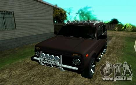 VAZ Niva 2121 Forester pour GTA San Andreas
