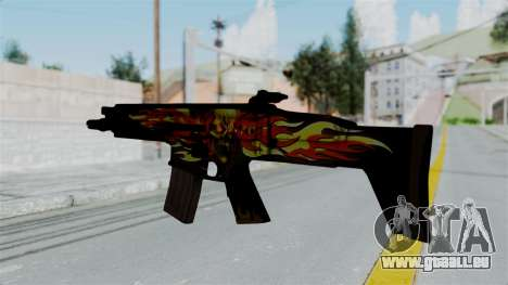 SCAR-L Extra PJ für GTA San Andreas zweiten Screenshot