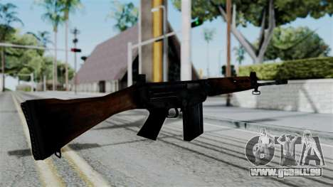No More Room in Hell - FN FAL pour GTA San Andreas troisième écran
