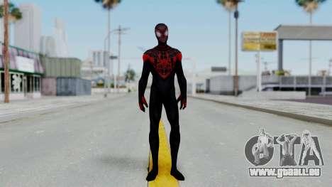 Marvel Future Fight Spider Man Miles v2 pour GTA San Andreas deuxième écran