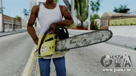 No More Room in Hell - Chainsaw für GTA San Andreas dritten Screenshot