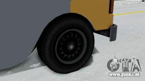 GTA 5 Tacovan pour GTA San Andreas sur la vue arrière gauche