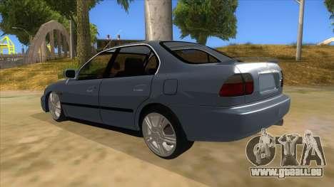 Honda Accord Sedan 1997 für GTA San Andreas zurück linke Ansicht