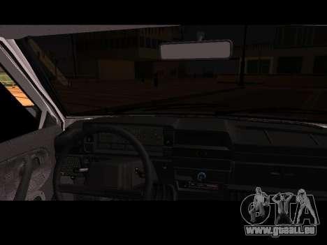 VAZ 21099 Voiture Sans épuisette pour GTA San Andreas vue de droite