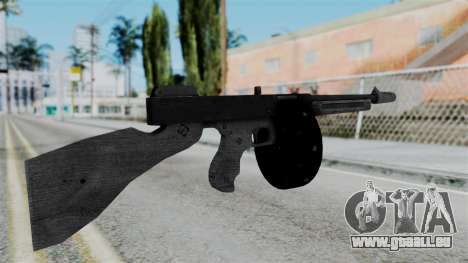 GTA 5 Gusenberg Sweeper - Misterix 4 Weapons pour GTA San Andreas deuxième écran