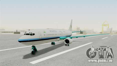 Boeing 737-800 Business Jet Indian Air Force pour GTA San Andreas