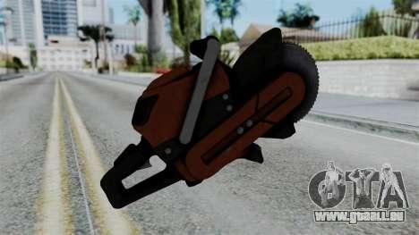 No More Room in Hell - Abrasive Saw pour GTA San Andreas deuxième écran