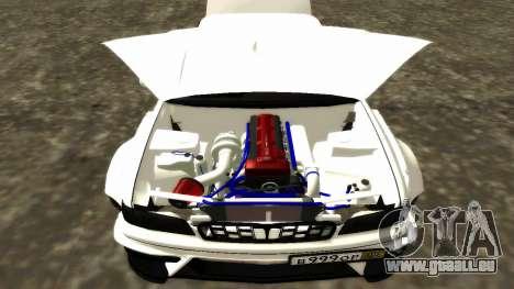 Nissan Cedric WideBody für GTA San Andreas Innen