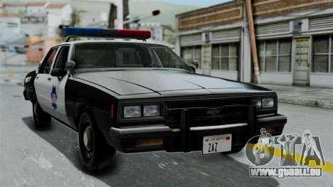 Chevrolet Impala 1985 SFPD pour GTA San Andreas