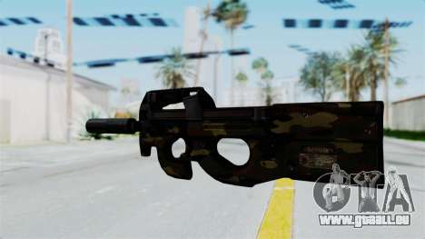 P90 Camo1 für GTA San Andreas zweiten Screenshot