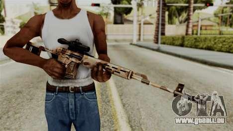 Dragunov Elite pour GTA San Andreas troisième écran