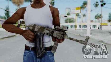 Arma OA AK-47 Eotech für GTA San Andreas dritten Screenshot