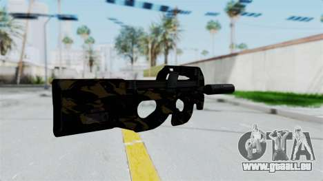 P90 Camo2 pour GTA San Andreas deuxième écran