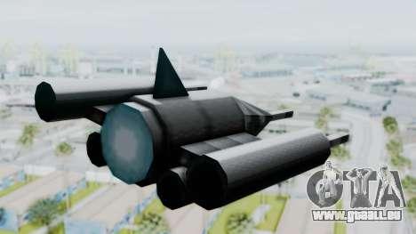 TCFU Spaceship für GTA San Andreas linke Ansicht