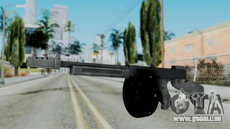 GTA 5 Gusenberg Sweeper - Misterix 4 Weapons pour GTA San Andreas