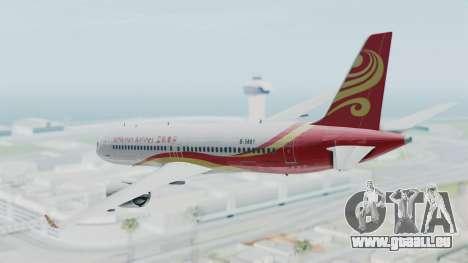 Comac C919 Hainan Airlines Livery pour GTA San Andreas laissé vue