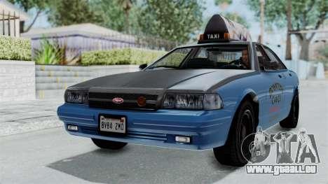 GTA 5 Vapid Stanier II Taxi pour GTA San Andreas