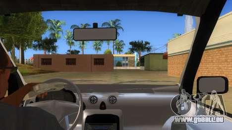 Hyundai Atos 2006 pour GTA San Andreas vue intérieure