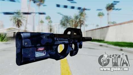 P90 Camo3 pour GTA San Andreas deuxième écran