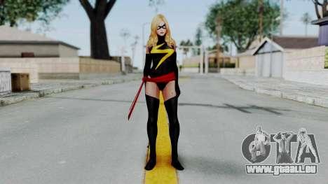 Marvel Future Fight - Ms. Marvel pour GTA San Andreas deuxième écran