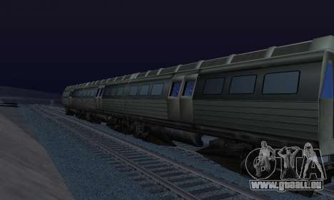 Batman Begins Monorail Train Vagon v1 pour GTA San Andreas