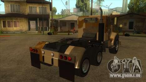 GTA V HVY Barracks Semi für GTA San Andreas rechten Ansicht