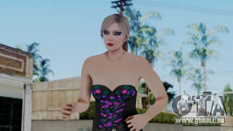 Female Skin 1 from GTA 5 Online pour GTA San Andreas