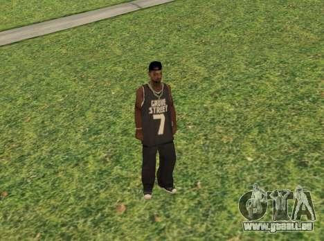 Black fam3 für GTA San Andreas