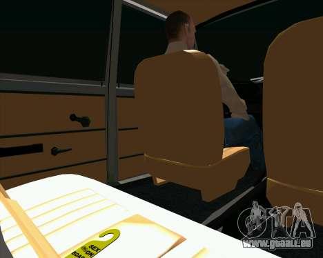 VAZ 2102 de Combat Classiques pour GTA San Andreas vue arrière