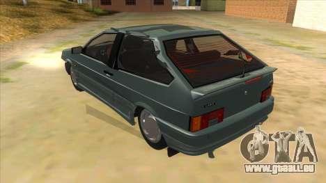 VAZ 2113 levier de vitesses pour GTA San Andreas sur la vue arrière gauche