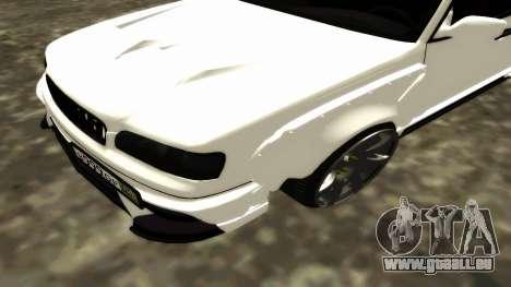 Nissan Cedric WideBody für GTA San Andreas obere Ansicht