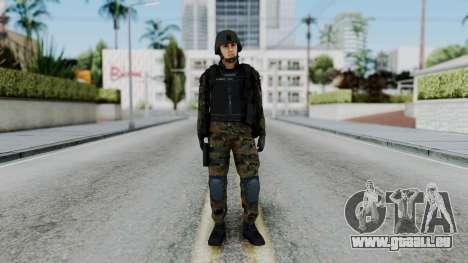 Serbian Zandarmerija pour GTA San Andreas deuxième écran