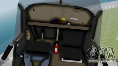 PC-6 USAF Markings pour GTA San Andreas vue de droite