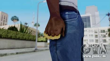 The Ballas Knuckle Dusters from Ill GG Part 2 für GTA San Andreas dritten Screenshot