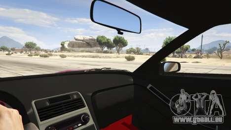 GTA 5 Honda NSX Rocket Bunny droite vue latérale