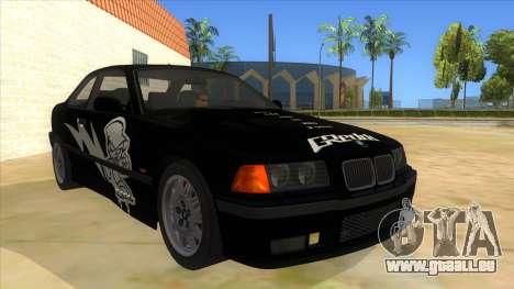 BMW M3 E36 für GTA San Andreas obere Ansicht